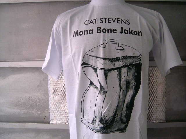CAT STEVENS MONA BONE JAKON T SHIRT  WHITE L