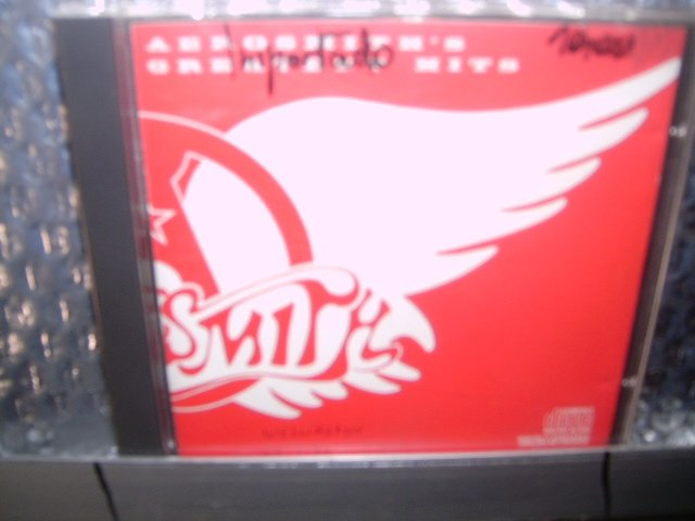 AEROSMITH greatest hits CD 1978 HARD ROCK