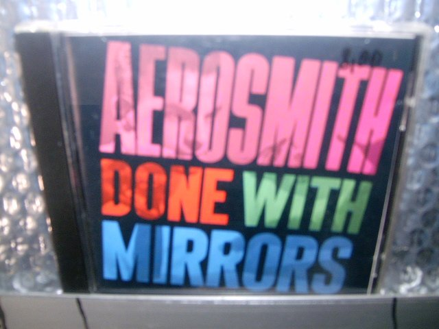 AEROSMITH done with mirrors CD 1985 HARD ROCK