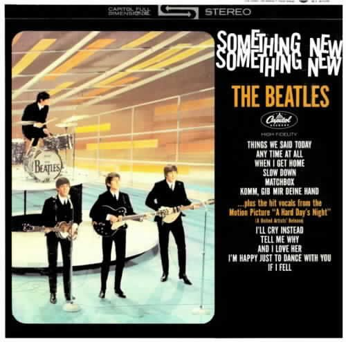 BEATLES something new CD FORMATO MINI LP 196? ROCK