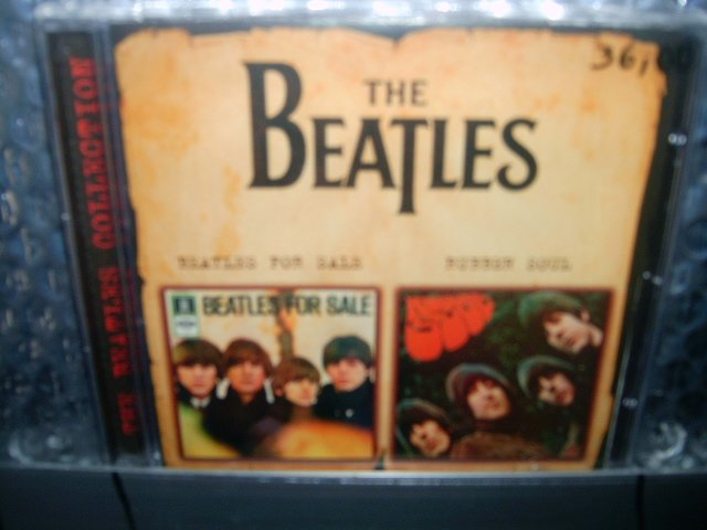 BEATLES for sale rubber soul CD 1964 1965 ROCK