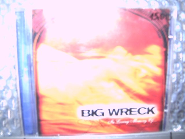 BIG WRECK in loving memory of... CD 1997 ALTERNATIVO