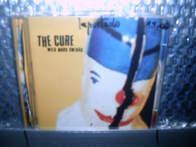 THE CURE wild mood swings CD 1996 ALTERNATIVE ROCK
