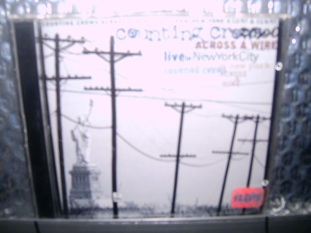 COUNTING CROWS across a wire - live in new york 2CD 1998 POP ROCK