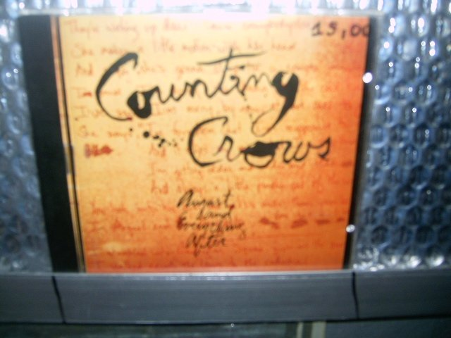 COUTING CROWS august and everything after CD 1994 POP ROCK