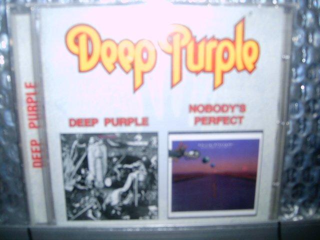 DEEP PURPLE deep purple nobody's perfect 2CD 1969 1988 HARD ROCK