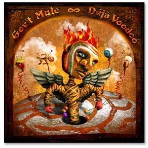 GOV'T MULE deja voodoo CD 2004 SOUTHERN ROCK