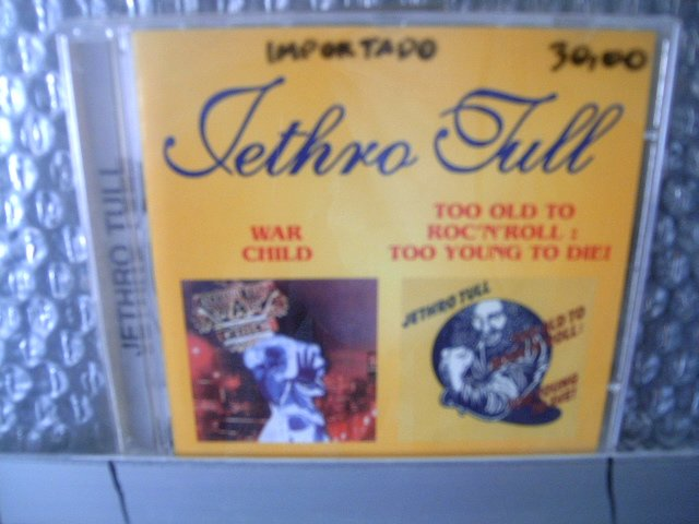 JETHRO TULL war child too old to rock 'n' roll: too young to die! CD 1974 1976 ROCK