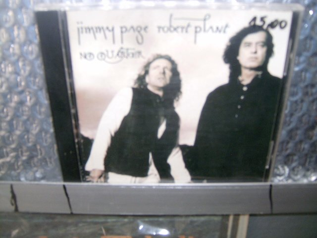 JIMMY PAGE ROBERT PLANT no quarter CD 1994 HARD ROCK