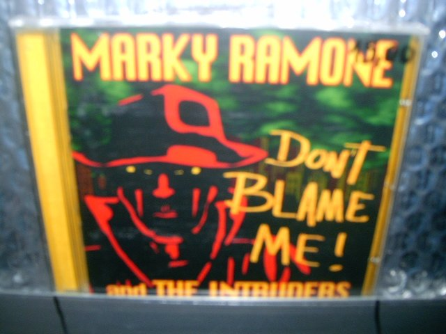 MARKY RAMONE AND THE INTRUDERS dont blame me CD 1999 PUNK ROCK