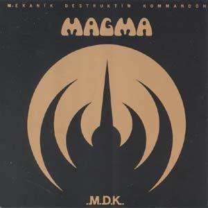 MAGMA m d k CD 1973 PROGRESSIVE ROCK