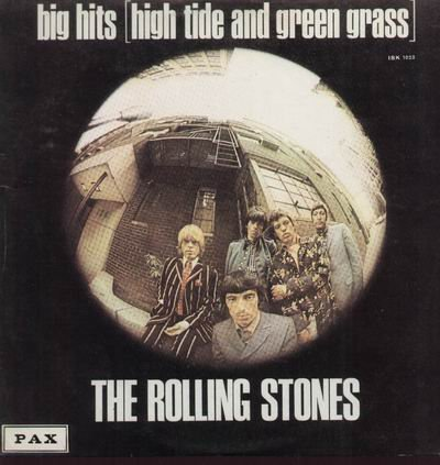 THE ROLLING STONES big hits (high tide and green grass) (uk) + 8 bonus CD 1966 ROCK