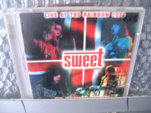 SWEET live at the rainbow 1973 CD 1973 GLAM ROCK