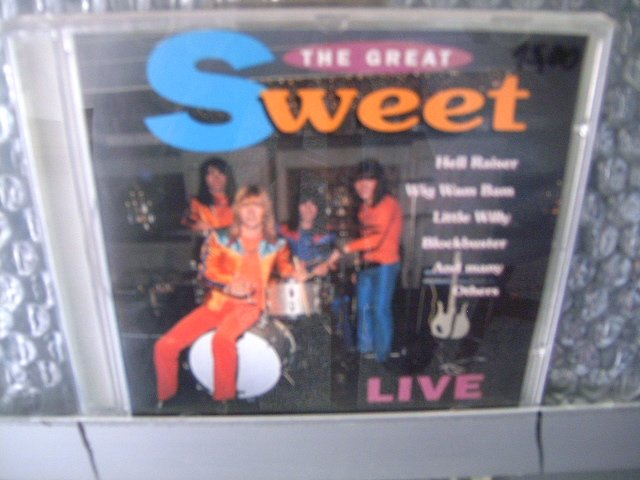 SWEET the great sweet CD 1995 GLAM ROCK