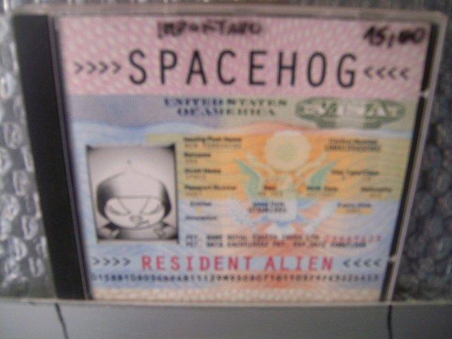SPACEHOG resident alien CD 1995 ALTERNATIVE ROCK