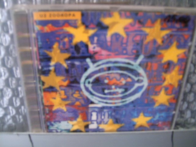 U2 zooropa CD 1993 POP ROCK
