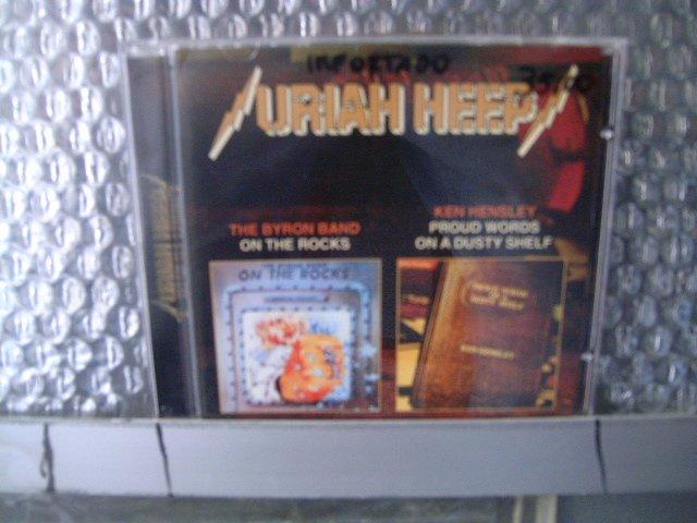 URIAH HEEP the byron band: on the rocks ken hensley: proud words on a dusty shelf CD 1981 1973 ROCK