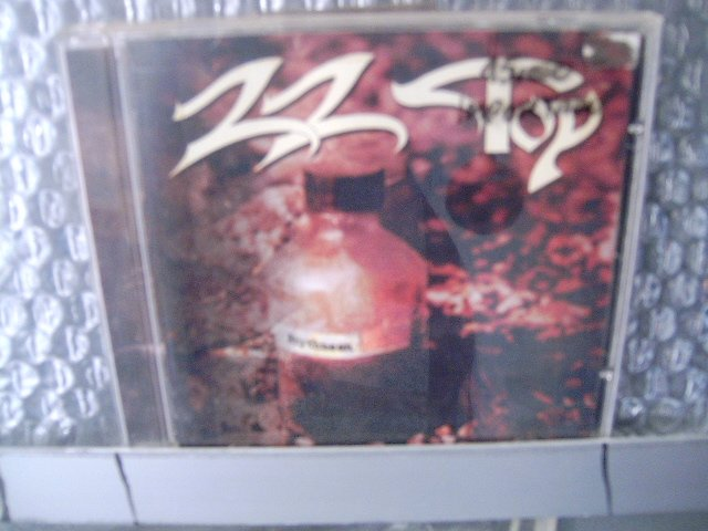 ZZ TOP rhythmeen CD 1996 ROCK