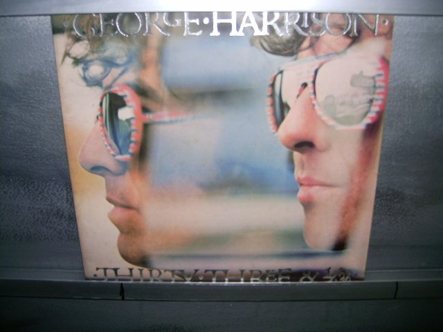 GEORGE HARRISON thirty three & harrison LP 1977 ROCK**