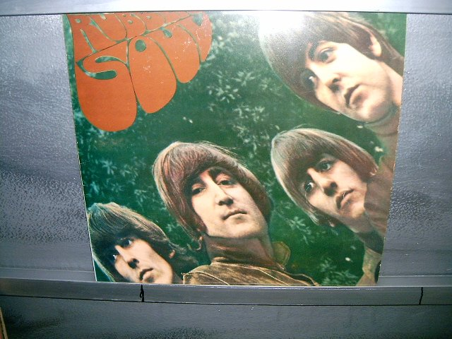 THE BEATLES rubber soul LP 1974 ROCK SEMI-NOVO MUITO RARO VINIL
