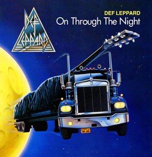DEF LEPPARD on through the night CD FORMATO MINI VINIL 1980 HEAVY ROCK