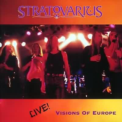 STRATOVARIUS visions of europe 2CD 1998 MELODIC HEAVY METAL