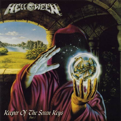 HELLOWEEN keeper of the seven keys part 1 CD 1987 MELODIC HEAVY METAL