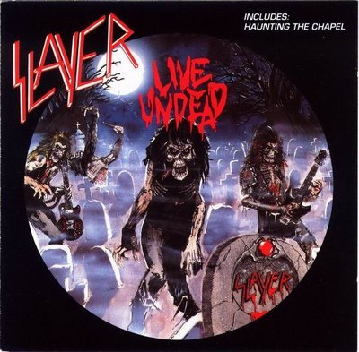 SLAYER live undead CD 1993 THRASH METAL