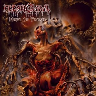 FLESHCRAWL made of flesh CD 2004 DEATH METAL
