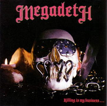 MEGADETH killing is my business...and business is good! CD THRASH METAL