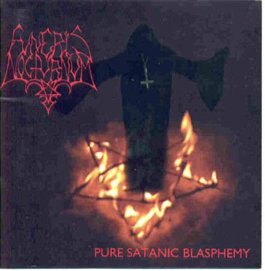 FUNERIS NOCTURNUM pure satanic blasphemy CD 2000 BLACK METAL