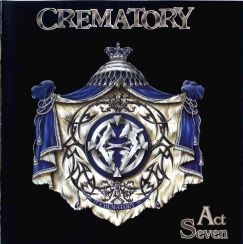 CREMATORY act seven CD 1999 GOTHIC DEATH METAL