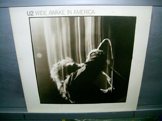 U2 wide awake america LP 1986 ROCK SEMI-NOVO MUITO RARO VINIL