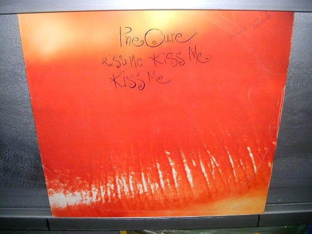 THE CURE kiss me kiss me kiss me LP 1987 ROCK MUITO RARO VINIL