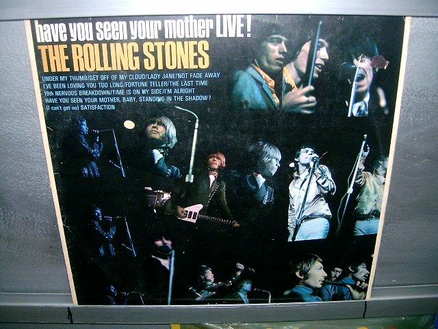 ROLLING STONES have you seen your mother live! LP 1966 ROCK MUITO RARO VINIL