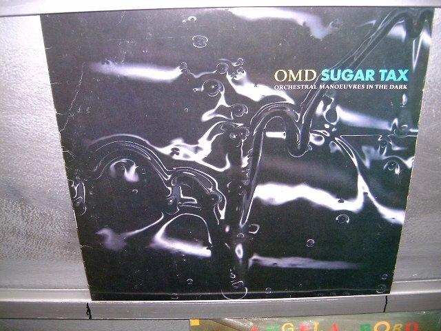 SUGAR TAX omd LP 1991 ROCK MUITO RARO VINIL