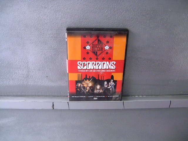 SCORPIONS to russia with love and other savage amusements DVD 19? HARD ROCK