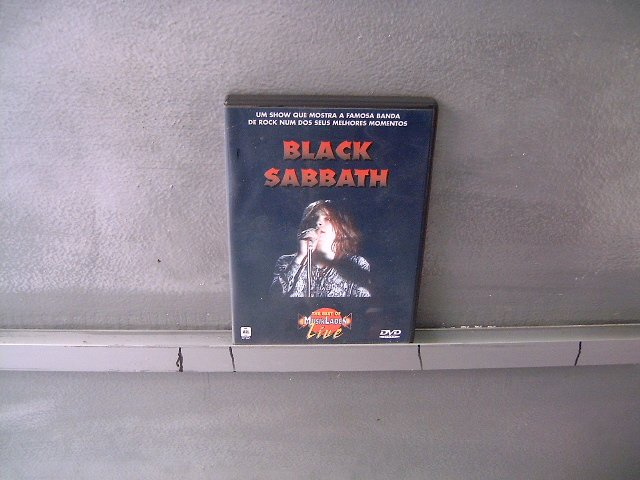BLACK SABBATH the best of musik laden live DVD ? HEAVY METAL