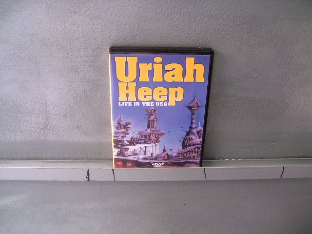 URIAH HEEP live in the usa DVD ? ROCK