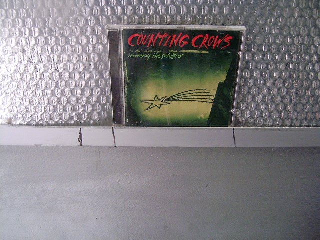 COUTING CROWS recovering the satellites CD 1996 POP ROCK