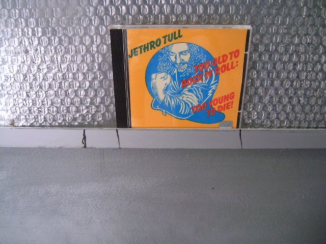 JETHRO TULL too old to rock & roll : to young to die CD 1976 ROCK