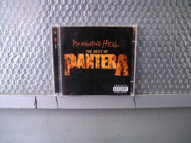 PANTERA reinventing hell - the best of 2CD 2003 THRASH METAL