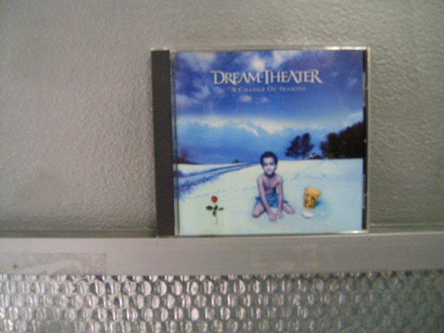 DREAM THEATER a change of seasons CD 1995 PROGRESSIVE METAL ROCK