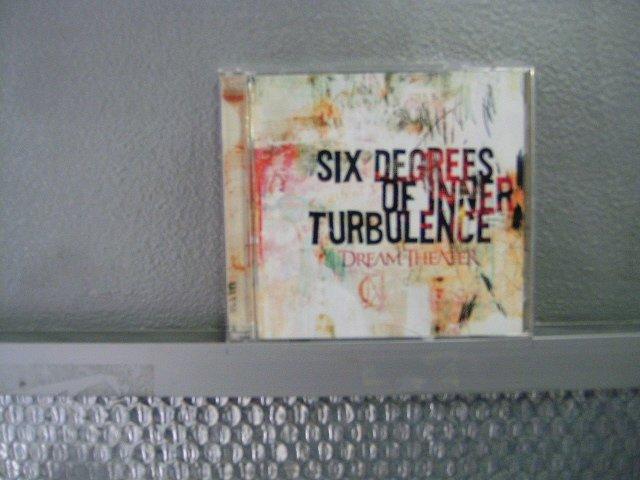 DREAM THEATER six degrees of inner turbulence 2CD 2002 PROGRESSIVE METAL ROCK