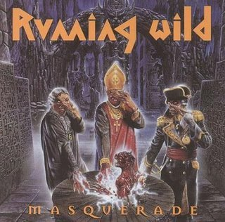 RUNNING WILD masquerade CD 1995 HEAVY METAL