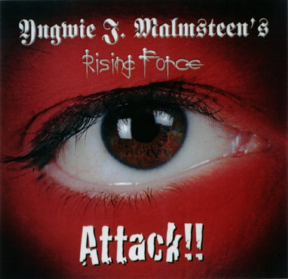 YNGWIE J. MALMSTEEN attack!! CD 2002 HEAVY METAL