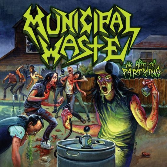 MUNICIPAL WASTE the art of partying CD 2007 THRASH METAL