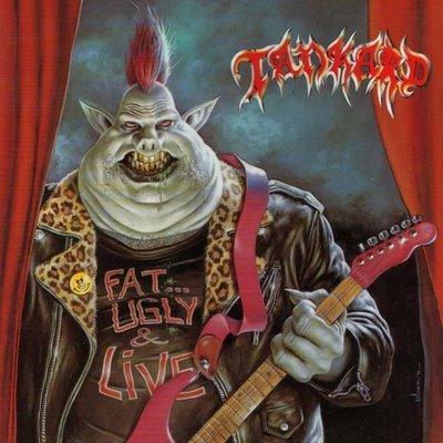 TANKARD fat...ugly & live CD 1991 THRASH METAL