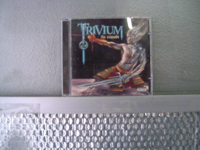 TRIVIUM the crusade CD 2006 METAL CORE
