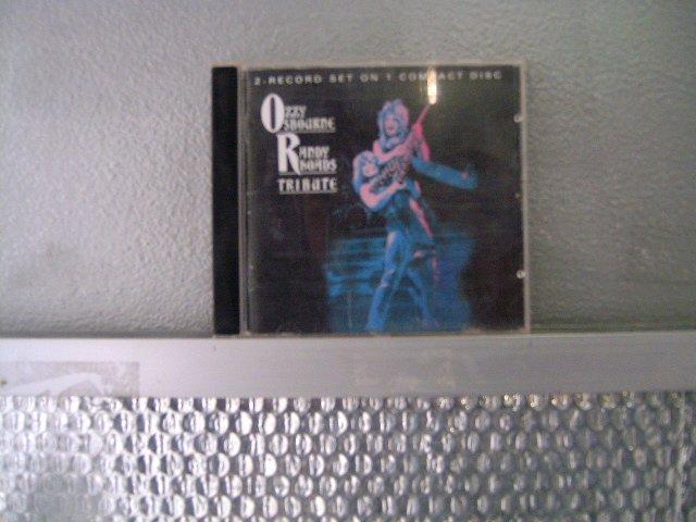 OZZY OSBOURNE randy rhoads tribute CD 1984 HEAVY METAL